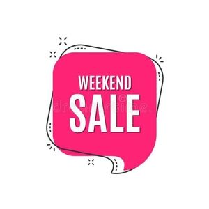 Weekend sale!